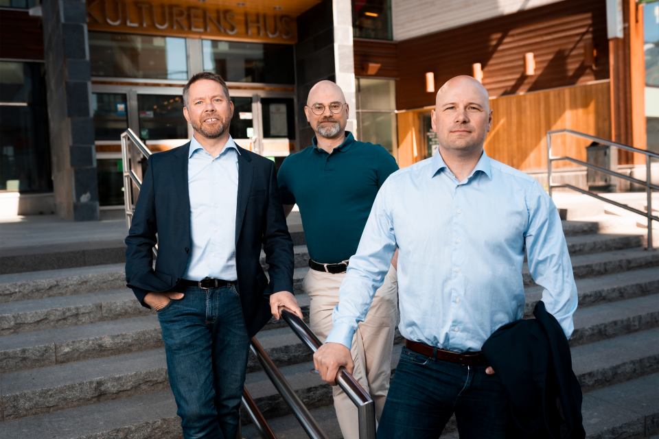 Kalle, Fredrik and Per
